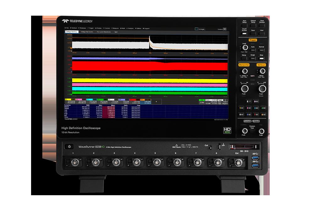 WaveRunner 8000 HD高精度示波器